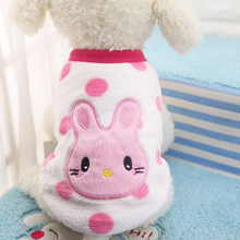 Winter Warm Cartoon Pet Clothes for Small Dogs Cats