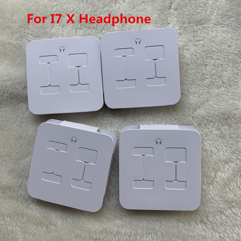 10pcs lot For iphone X 7 8 7 8plus earphone original Quality headset in ear earphone