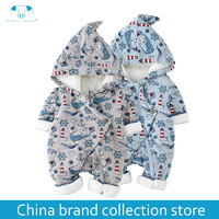 Winter Rompers Newborn Boy Girl Clothes Set Baby Fashion Infant Baby Brand Products Clothing Bebe Newborn