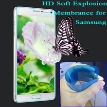 Not Glass Anti Explosion proof Screen Protector for Samsung Galaxy A3 A5 A7 J5 J7 2015
