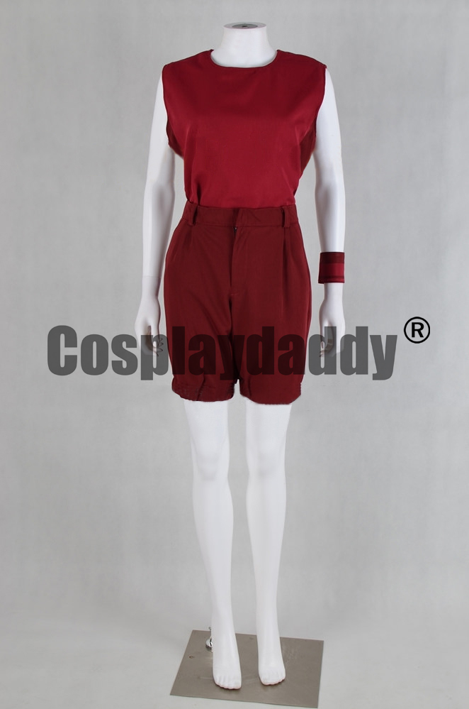 Steven Universe Jail Break Crystal Gems Ruby Outfit Cosplay Costume F006