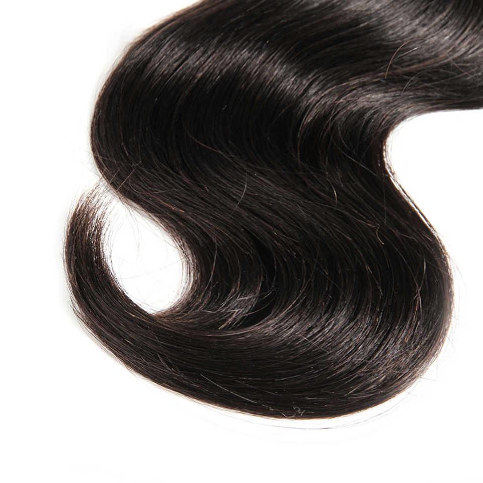 CEXXY Raw Indische Reine Haar Körper Welle Menschliches Haar Weben Bündelt Verlängerung Natürliche Farbe 3 PCS Freies Verschiffen