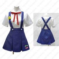 Bakemonogatari Hachikuji Mayoi Cosplay Costume Customized