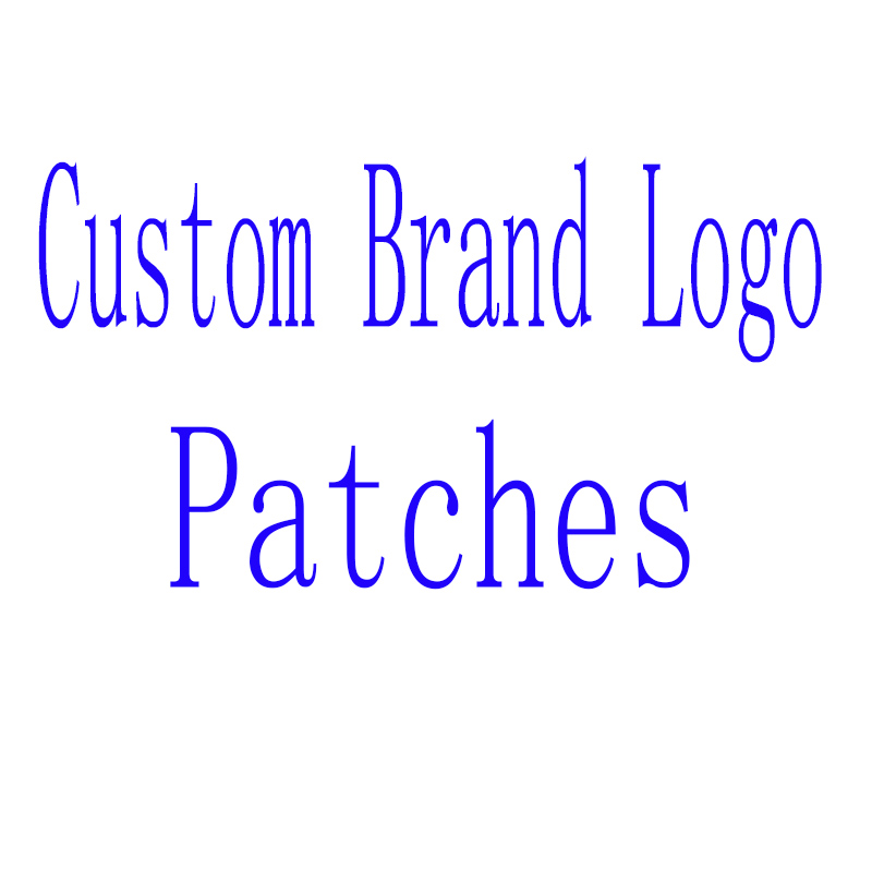 Logo Patches Sticker Clothing Heat-Transfer Stamping Custom Brand Iron-On Bag Hot Fix