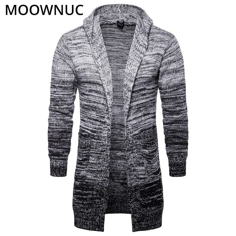 Fashion Sweater Cardigan Male Solid Cotton Smart Casual New Autumn Slim Keep Warm Homme Cardigan Men Modish Sweater MOOWNUC MWC