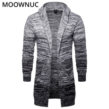 Fashion Sweater Cardigan Male Solid Cotton Smart Casual New Autumn Slim Keep Warm Homme Men Modish MOOWNUC MWC