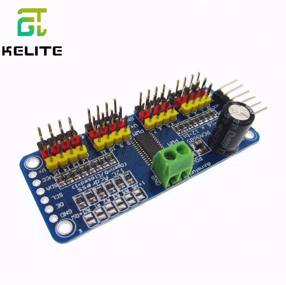 HAILANGNIAO 16 Channel 12-bit PWM/Servo Driver-I2C Interface PCA9685 Module