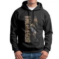 Man Hooded Sweatshirts The King of UFC Conor Mcgregor Hoodie Shirt Pure Cotton Original Hip hop Hoodie