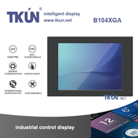10.4 inch projected capacitive touch display,Supports up to 10 simultaneous touch points,capacitive touch screen