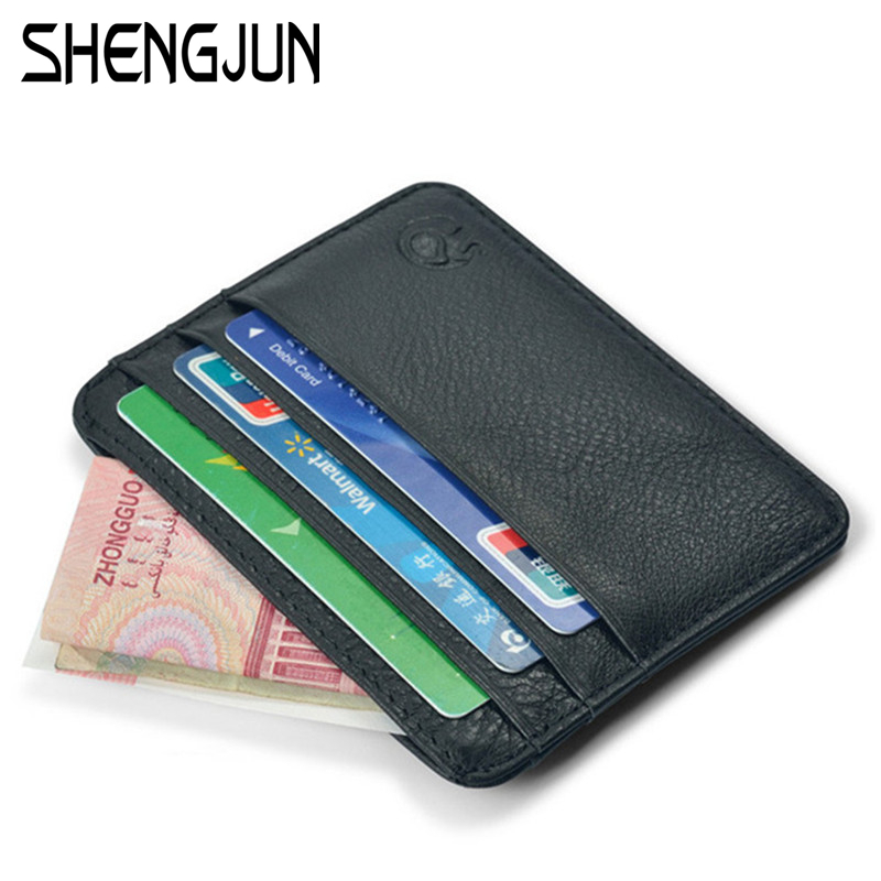 mini wallets small purse 100 real leather wallet men