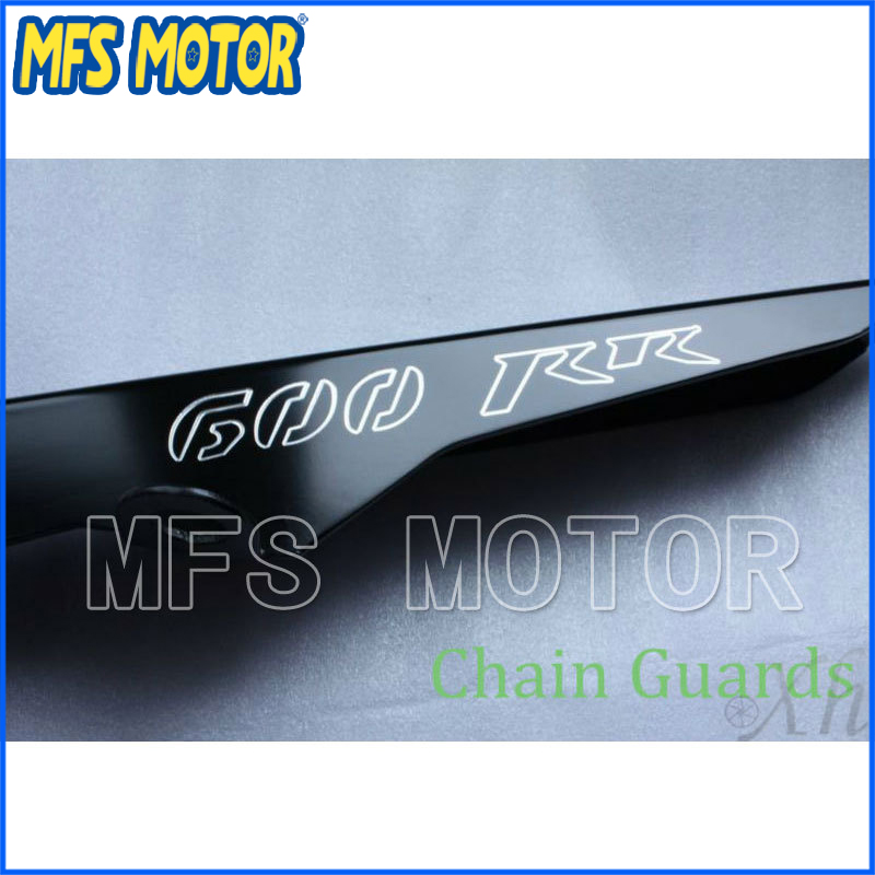 Freeshipping motorcycle parts Chain Guards Cover For Honda 2003-2012 CBR 600 RR CBR600RR Black motorcycle black chain guards cover fit for honda cbr600rr 2003 2004 2005 2006 2007 2008 cbr 600 rr cbr600 600rr