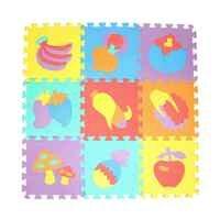 10 pièces motif animal mousse Puzzle enfants tapis tapis Split Joint EVA bébé jouer tapis intérieur doux activité Puzzle tapis