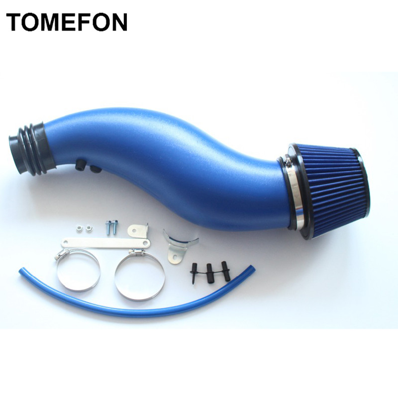 "3"" Car Flexible Cold Air Intake Feed Induction Ducting PVC ... |Pvc Air Intake"