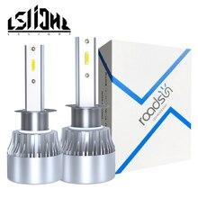 купить LSlight Auto Lamps 12V 24V 6000K H8 H9 H11 LED H7 H4 Hi/Lo Beam 9005 HB3 9006 HB4 H1 LED Headlight Bulb Car Light 60W 12000LM по цене 1094.91 рублей