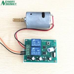 Image 4 - 433 Mhz 무선 RF 스위치 DC12V 릴레이 수신기 모듈 및 DC 모터 정방향 및 역방향 컨트롤러 용 433 Mhz 원격 제어