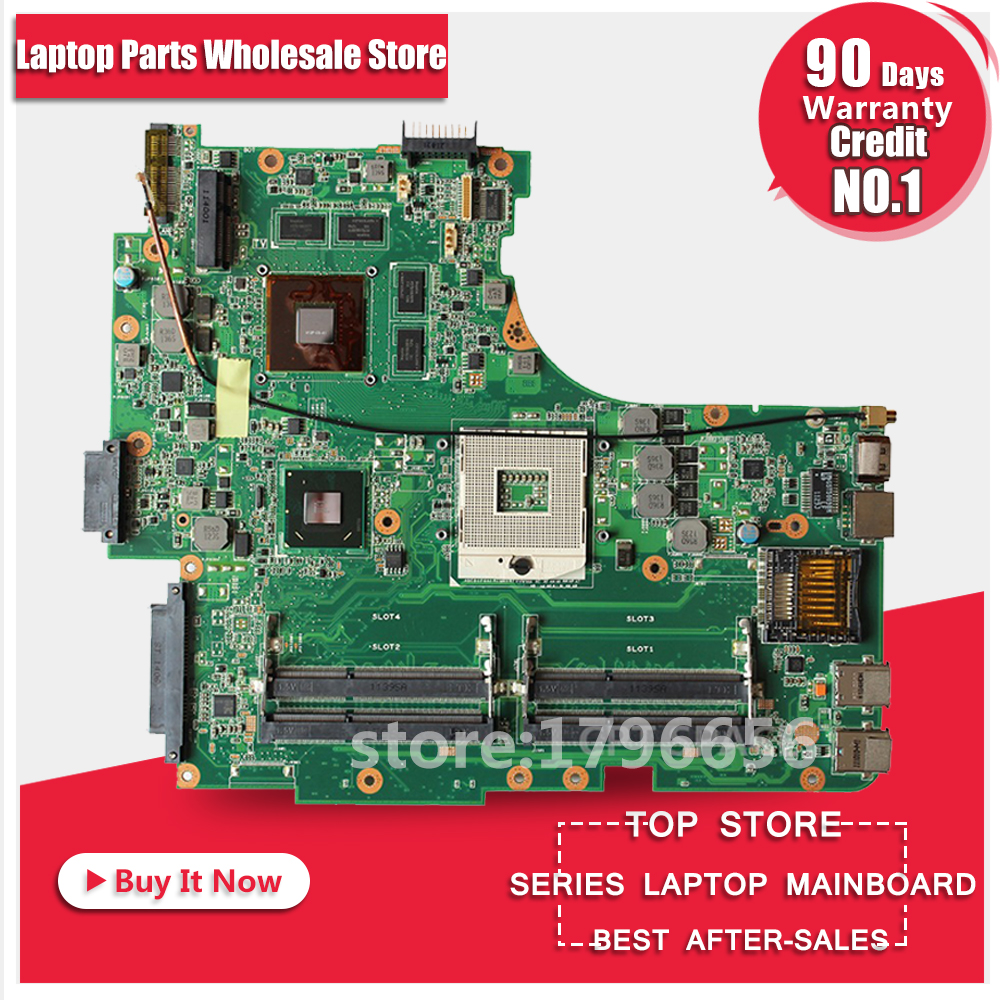 N53SV Rev: 2.2 + HM65 + 8 pieces video memory + 4 DDR3 Slots for ASUS N53SV Laptop motherboard + test and free shipping for asus k52jr laptop motherboard ddr3 rev 2 3a 8 pieces video memory fit for k52j a52j k52jt mainboard test and free shiopping