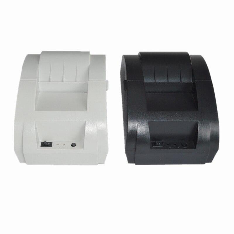 Imprimante thermique originale de reçu de position d'interface d'usb d'imprimante thermique de ZJ-5890F Mini 58mm pour la livraison gratuite de supermarché