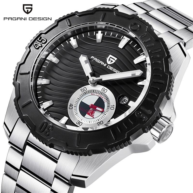 Relogio Masculino PAGANI DESIGN Luxury Brand Mechanical Watches Mens Waterproof Military Wrist Watch Clock Men Reloj Hombre 2018 цена 2017