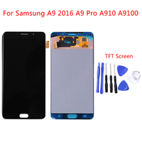 Full LCD Display Touch Screen Digitizer Assembly Replacement For Samsung Galaxy A9 2016 A910 TFT LCD