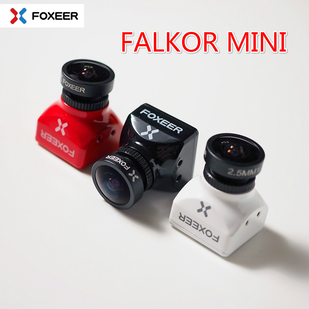 Foxeer Falkor mini Camera 1200TVL FPV Cameras16:9/4:3 PAL/NTSC Switchable CMOS 1/3 GWDR Support 5~40V for RC Multicopter aomway 700tvl hd 1 3 cmos fpv camera pal
