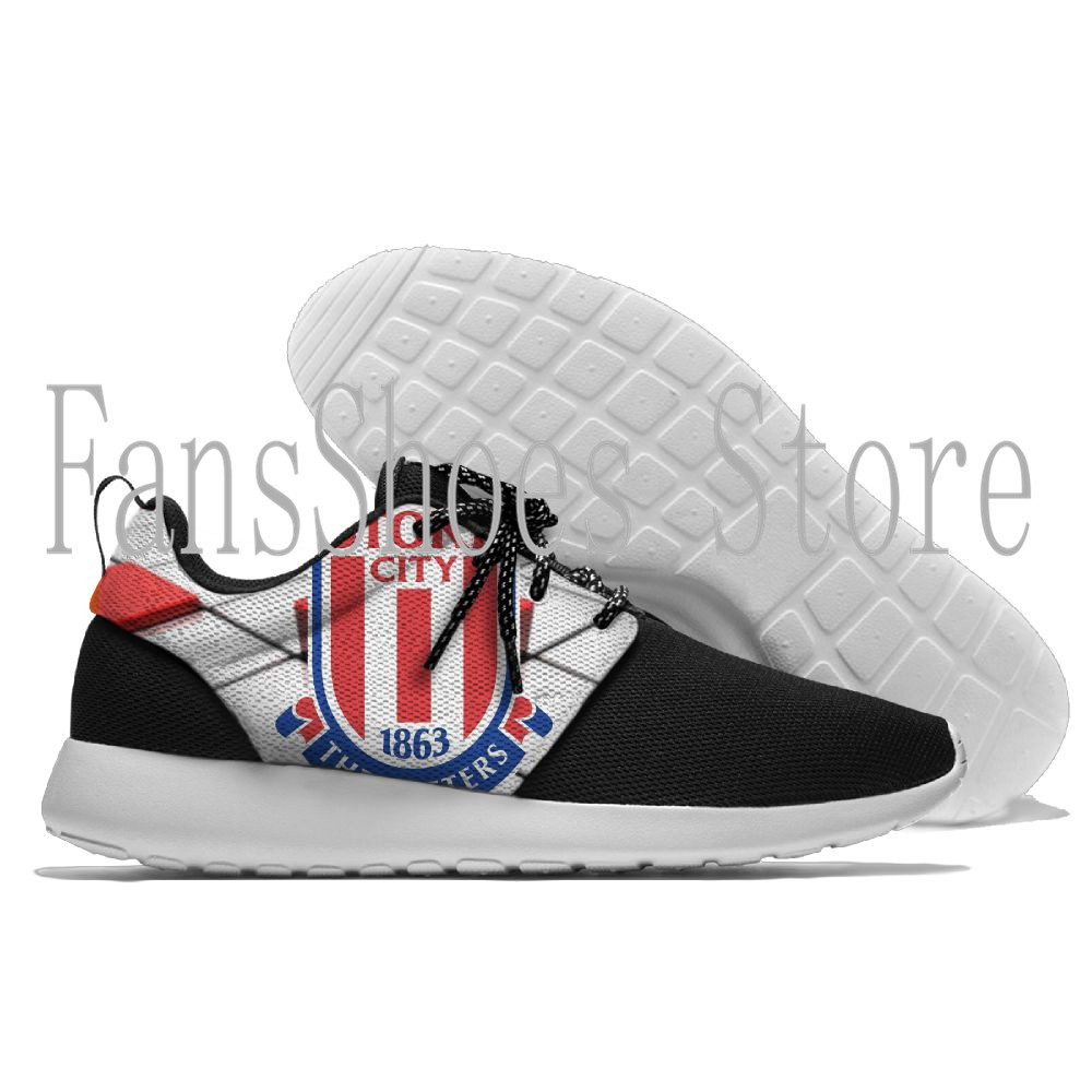 Men and womens Running Sneaker Lightweight Walking Stoke City Sports outdoor Shoes Breathable Mesh
