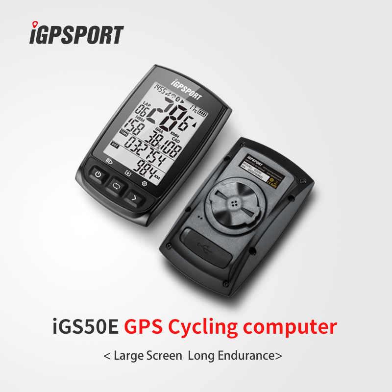 IGPSPORT ANT + ขี่จักรยานคอมพิวเตอร์บลูทูธ 4.0BLE IPX7 กันน้ำไร้สายจักรยานคอมพิวเตอร์จักรยานSensitive GPS Speedometer Cadence