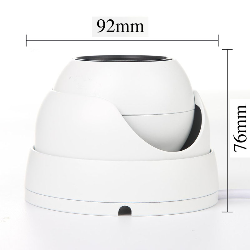 Image 2 - IP Dome Camera 720P 1080P H.264+/H.265 HD Network Indoor IRC 24 LEDs Infrared NightVision ONVIF P2P CMS XMEYE-in Surveillance Cameras from Security & Protection