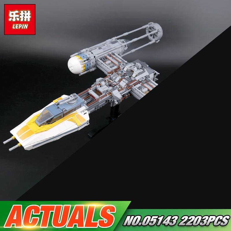 Здесь продается  Lepin 05143 2203Pcs Star Plan Series The 75181 New Y-wing Starfighter Set Model Building Blocks Bricks Toys for Kids As Gifts   Игрушки и Хобби