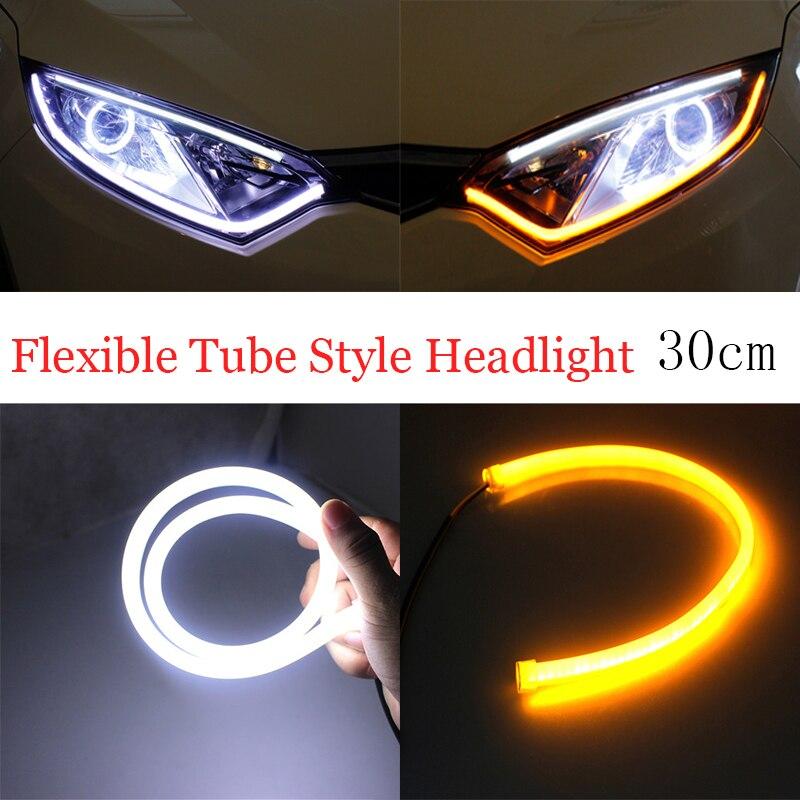 30cm Drl Flexible Led Tube Strip Daytime Running Lights