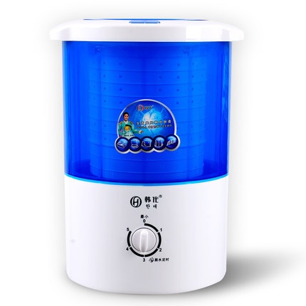 Freeshipping 190w Power Mini Dryer Can Dry 2.0kg Clothes Single Tub Top Loading Cloth Dryer Semi-automatic Dehydrating Machine