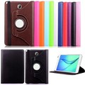 For Samsung Galaxy Tab A 9.7 T550 T555 PU leather 360 Rotating Stand Case cover For Galaxy Tab A 9.7 tablet + Free pen+film