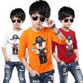 High Quality Kids Clothes Boys T Shirt Children Boy Cartoon Pattern Clothing Spring 100% Cotton Long Sleeve T Shirts Tops