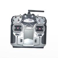 F16276/F16277 FS FlySky FS i10 T6 2.4g Digital Proportional 10 Channel Transmitter and Receiver System 3.55 LED Screen