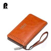 Luxury Brand Men Wallets High Capacity Clutch Bags Business Men Long Wallets Mens Fashion Desingers Purse
