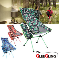 Outdoor Folding Chair Portable Fishing Chair Camping Seat Camping Hiking Beach chair Picnic Seat Fishing Accessories