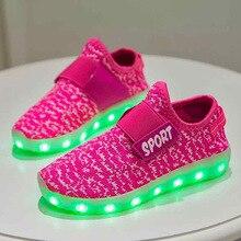 2017 nova discussão livre brilhante sapatos de coco de carregamento usb hop sapatos sapatilhas de dança de LED colorida fluorescente luminosa