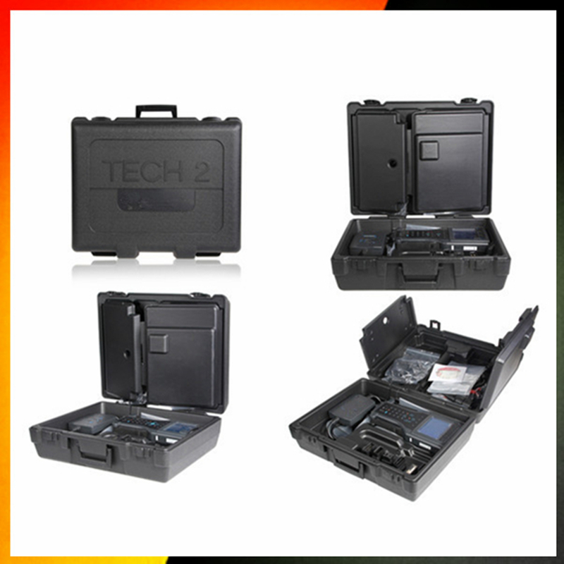 Prix pour 2017 nouveau pour GM Tech 2 Scanner pour SAAB Opel GM Isuzu Suzuki (Candi interface + TIS logiciel + 32 MB Carte) Vetronix GM Tech2 avec la boîte