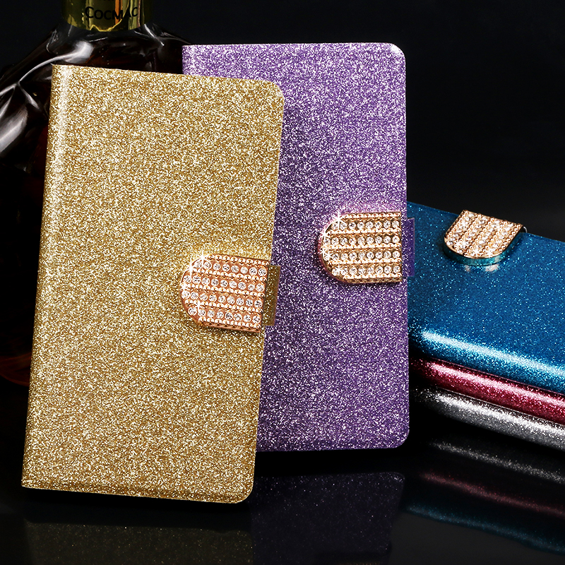 Flip phone case For Doogee X3 X5 Max X6 X7 fundas wallet style Shining protective kickstand leathe cover for X9 Mini X10 X20 X30 in Flip Cases from Cellphones Telecommunications