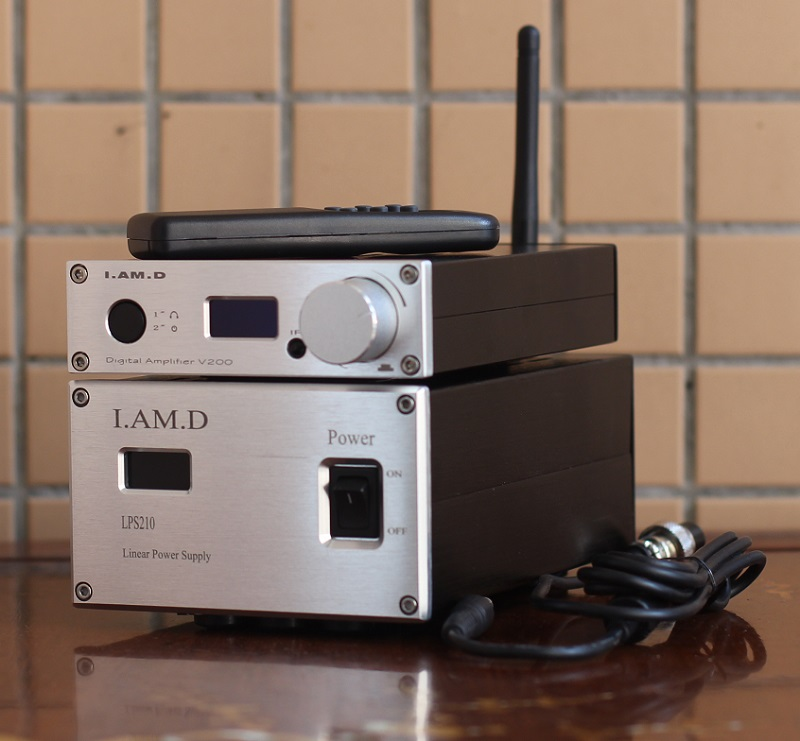 2019 Nieuwe I. Am. D V200/v200bt Volledige Digitale Audio Versterker Bluetooth 5.0 Csr8765 Aptx + Lps210 Lineaire Voeding Ac110v Optioneel Meer Kortingen Verrassingen