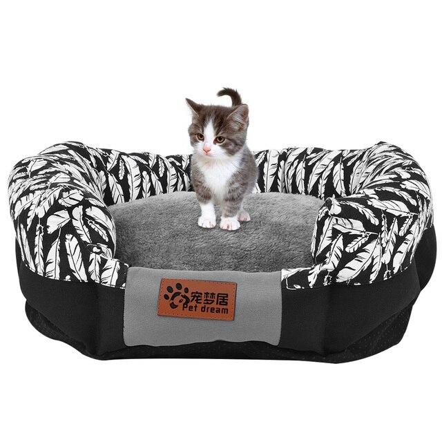 Petacc Pet Sleeping Bed Comfortable Pet Sleeping Sack Soft Pet Lounge  Multi Functional Pet Sofa