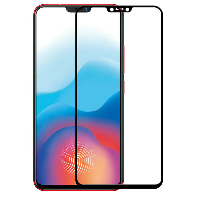 For Vivo V9 6 3 9h 2 5d Full Cover Tempered Glass Screen Protector