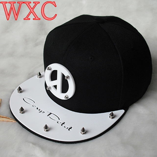 2016 Korea Kpop Cap Harajuku BIGBANG Boys G-dragon SnapBack Baseball Cap Hip Hop Hat