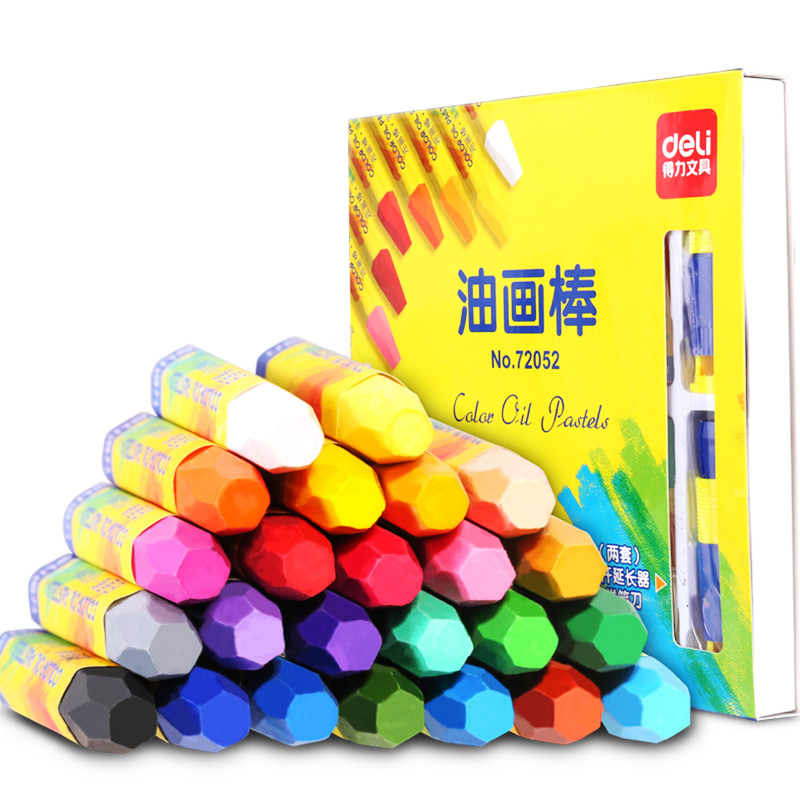 Oil Pastels Non-toxic Safe Wax Crayon Drawing for Kids Students Art Supplies Soft Crayons Gift Oil Painting Stick Painting Item