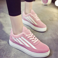 New Trendy 2017 Spring Autumn Women Fashion Casual Lady Canvas Shallow Low Teenagers Flat Shoes Plimsolls Mujer Zapatillas G575