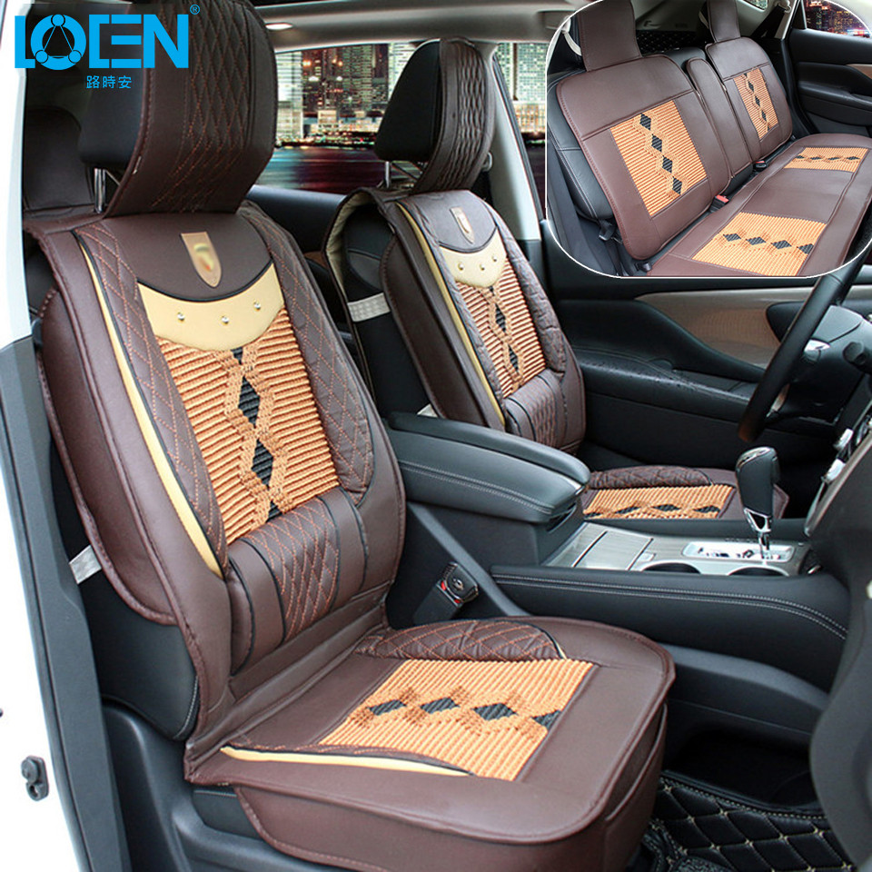 Cool Four Seasons Car Seat Covers Front Seat Cushion Back