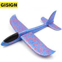 Foam Flaying Glider Hand Throw Flying Planes Model Aeroplane Outdoor Toy EPP Aircraft Launch Game for kids