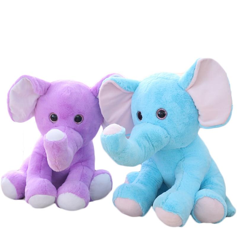 Aliexpress Com Buy Elephant Plush Toy Cute Big Eyes