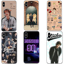 Shawn Mendes 98 Super Penyanyi Hard Coque Ponsel Case Menutupi UNTUK iPhone 5 5 S 6 6 S Plus 7 xr X MAX 8 8 PLUS X 10(China)