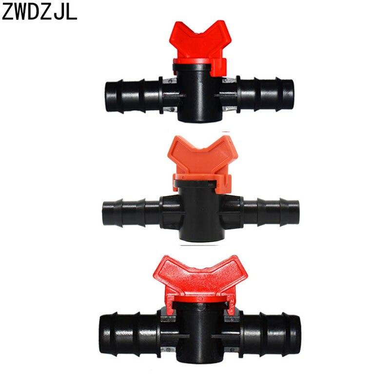 Garden-Tap Connectors Irrigation Drip-Adapter Valve-20mm Water-Valve 16mm 5/8-Hose Barb