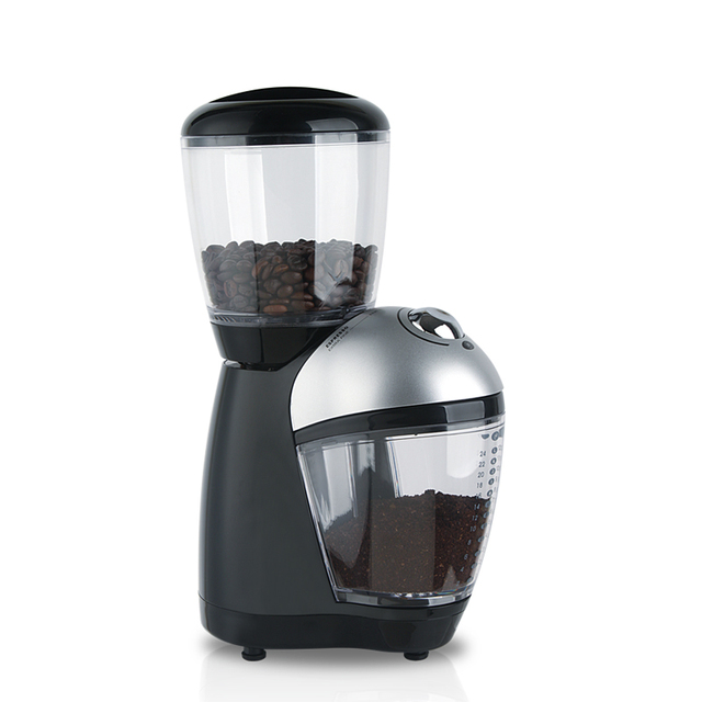 Cafetera High Quality 200w For Power Professional Burr Coffee Grinder/coffee Mill/electric Grinding Machine Beans Nuts Grinders